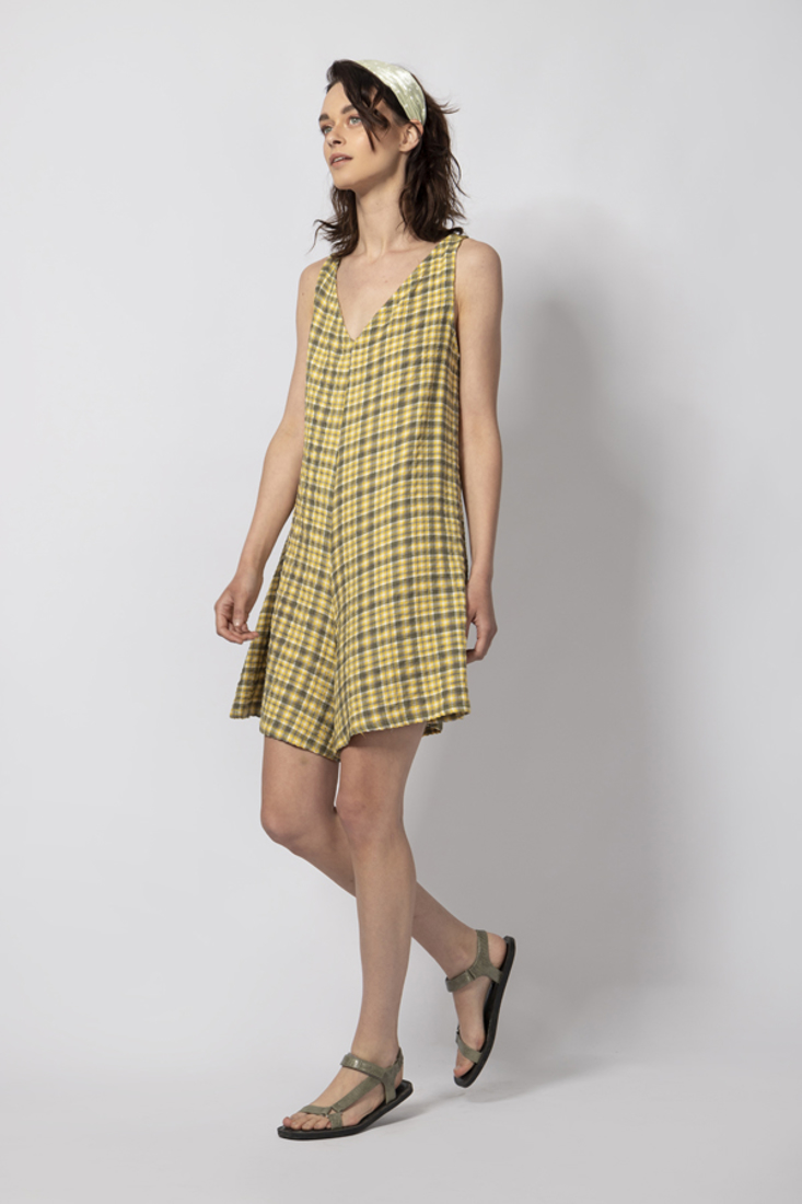 Picture of PLAID PLAYSUIT (2)