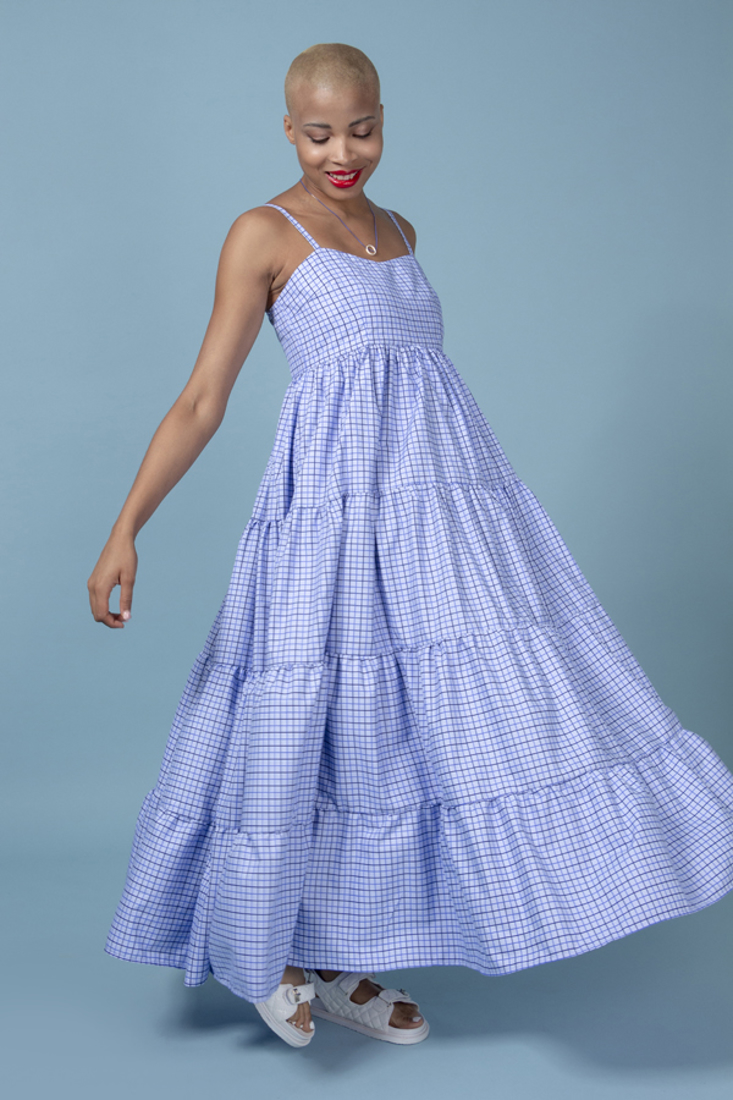 Picture of LONG PLAID DRESS (2)