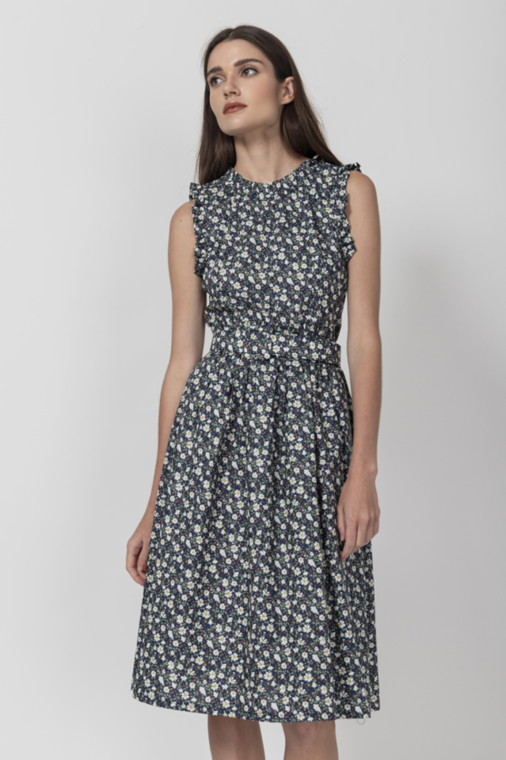 Picture of SLEEVELESS PRINTED DRESS