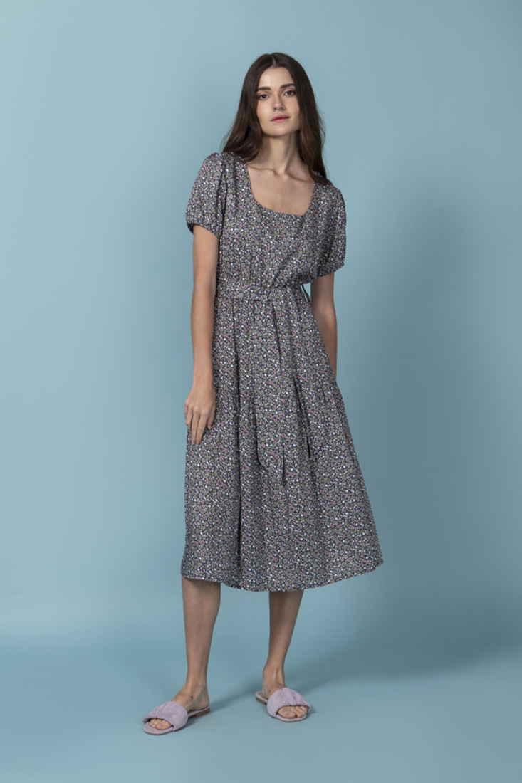Picture of MIDI PRINTED DRESS (2)