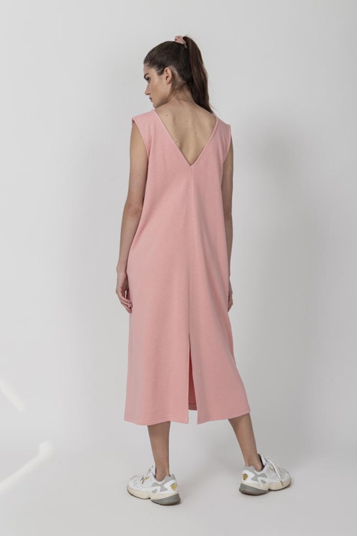 Picture of PLUSH SLEEVELESS DRESS