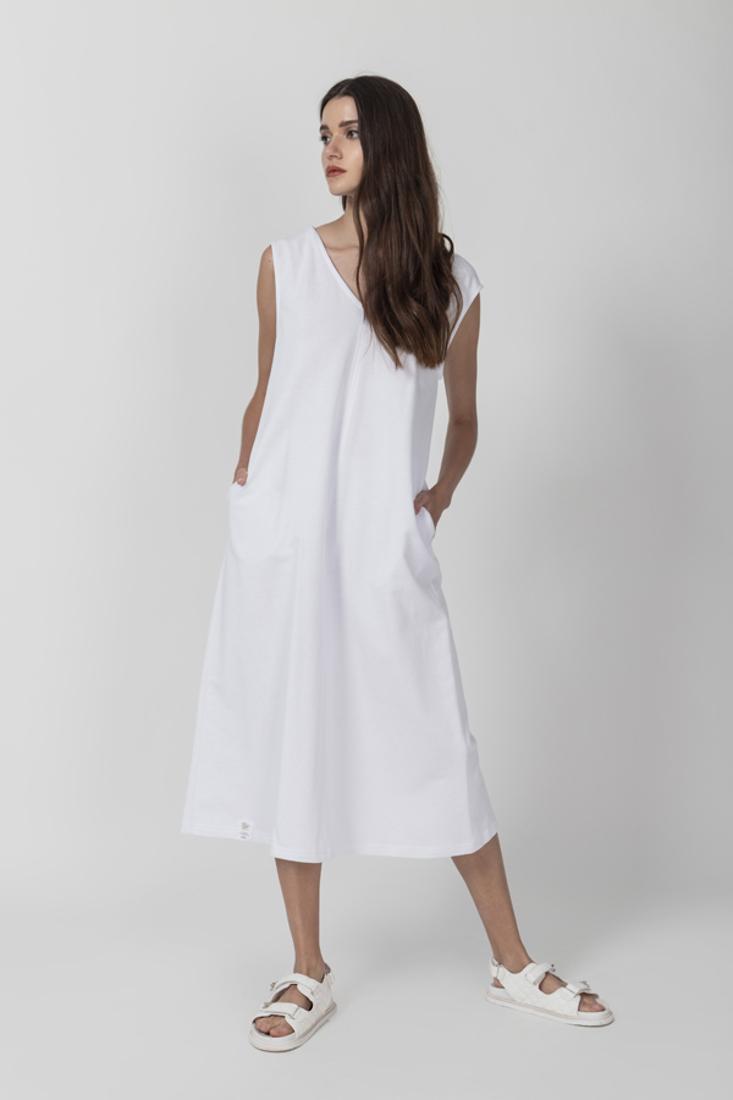 Picture of PLUSH SLEEVELESS DRESS (2)