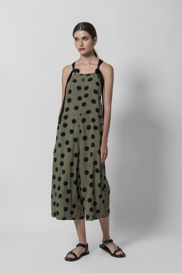 Picture of POLKA DOT DUNGAREES