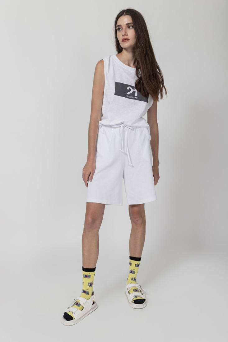 Picture of SLEEVELESS TOP WITH PRINT (2)