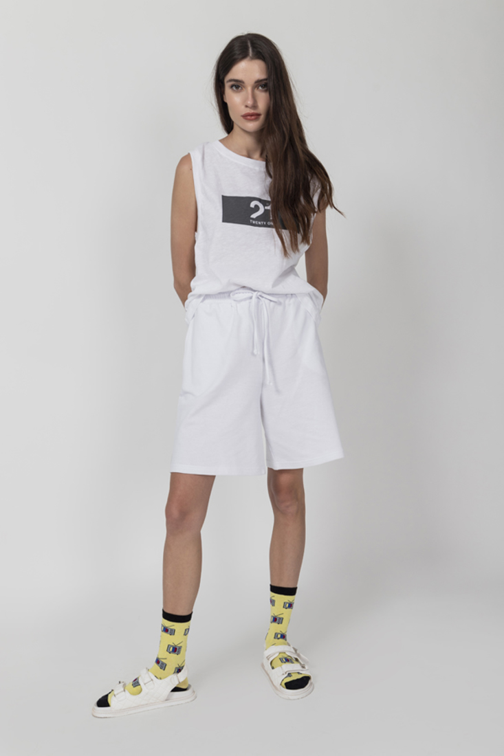 Picture of SLEEVELESS TOP WITH PRINT