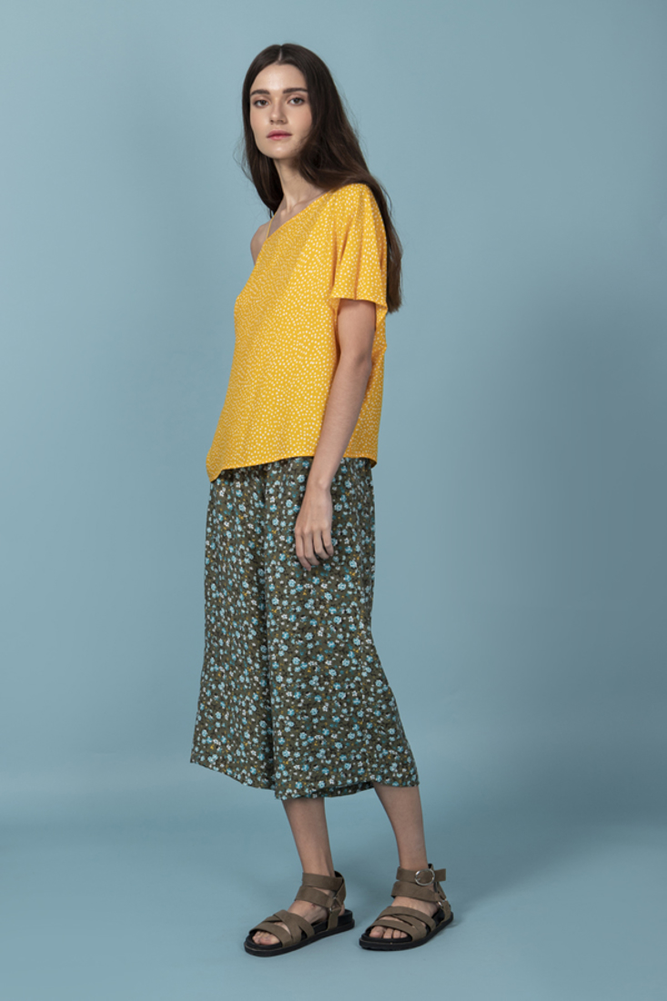 Picture of POLKA DOT OVERSIZED BLOUSE (2)