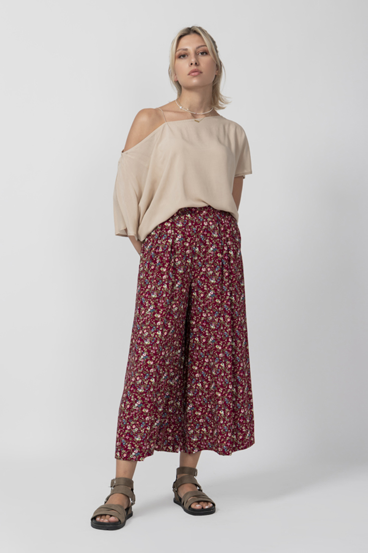 Picture of FLORAL PRINT CULLOTTES (2)