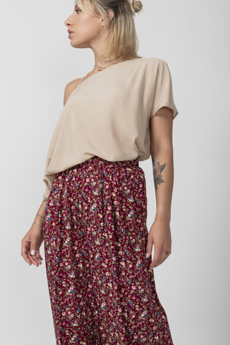 Picture of FLORAL PRINT CULLOTTES