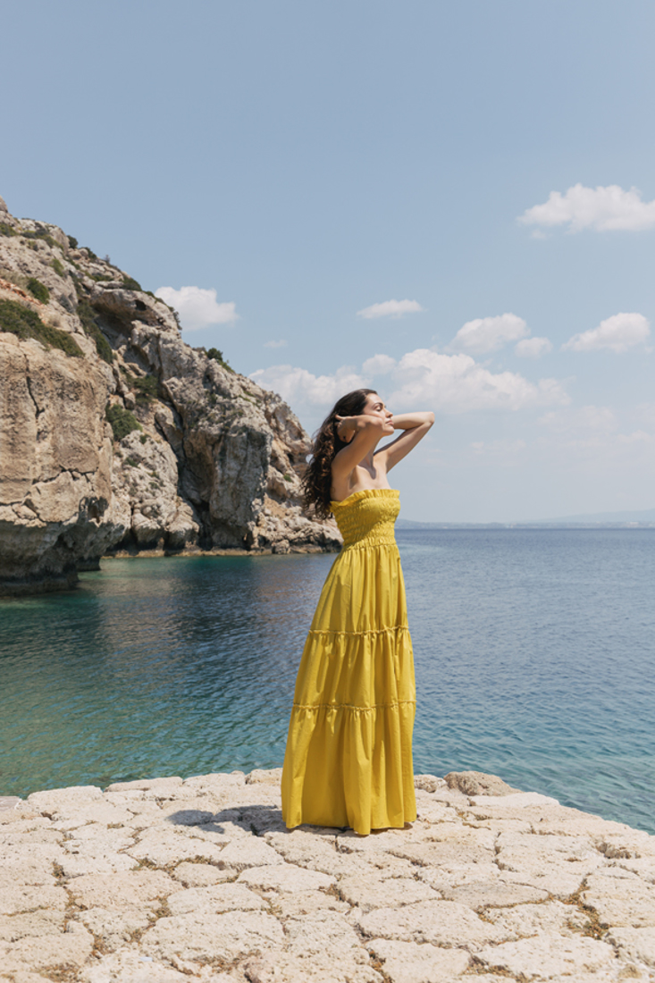 Picture of ΦΟΡΕΜΑ STRAPLESS ΜΑΚΡΥ (2)