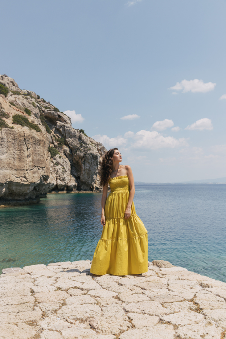 Picture of ΦΟΡΕΜΑ STRAPLESS ΜΑΚΡΥ
