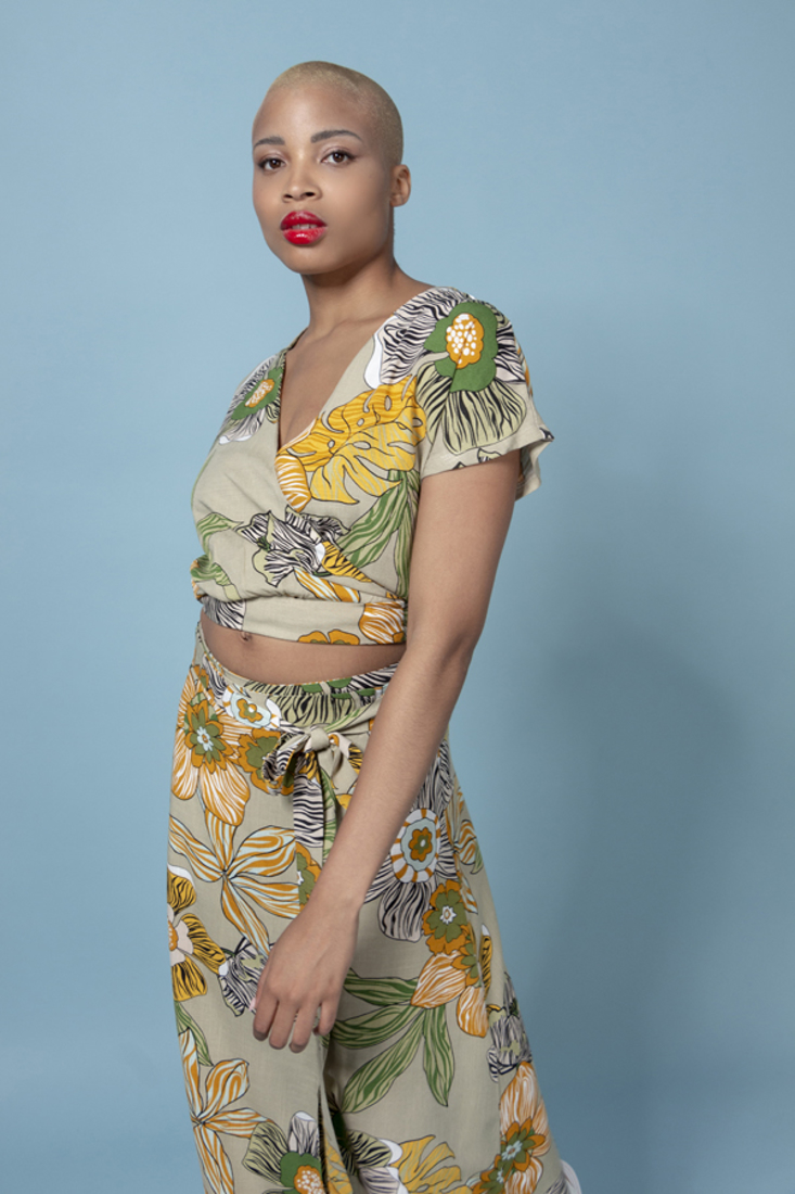 Picture of WRAP PRINTED TOP (2)