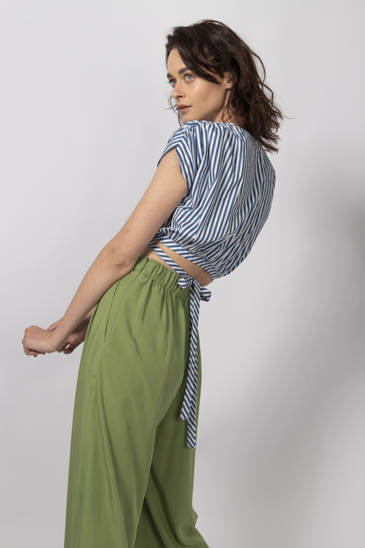 Picture of STRIPED CROP TOP