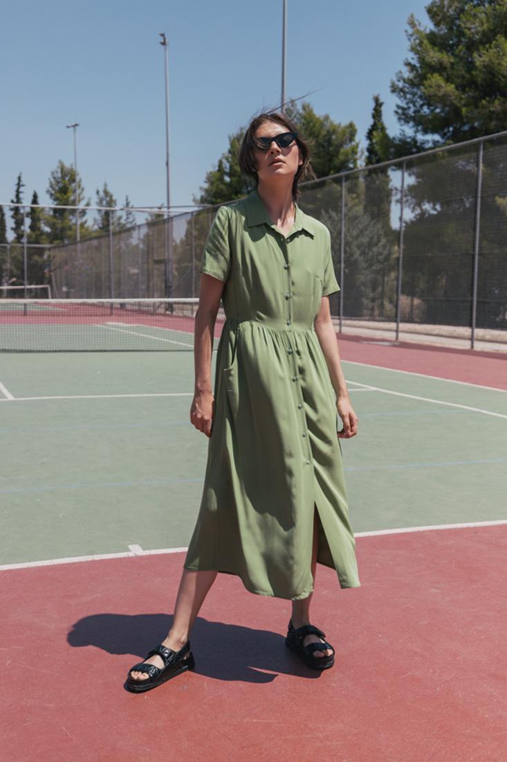 Picture of MIDI SHIRT DRESS
