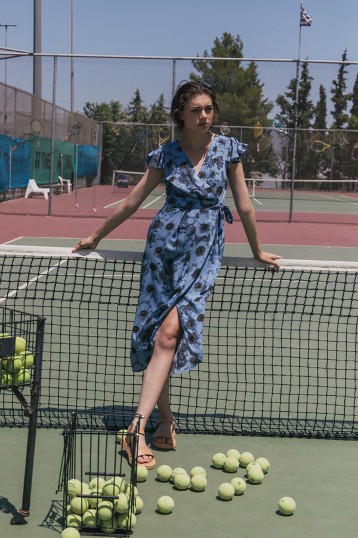 Picture of PRINTED WARP DRESS