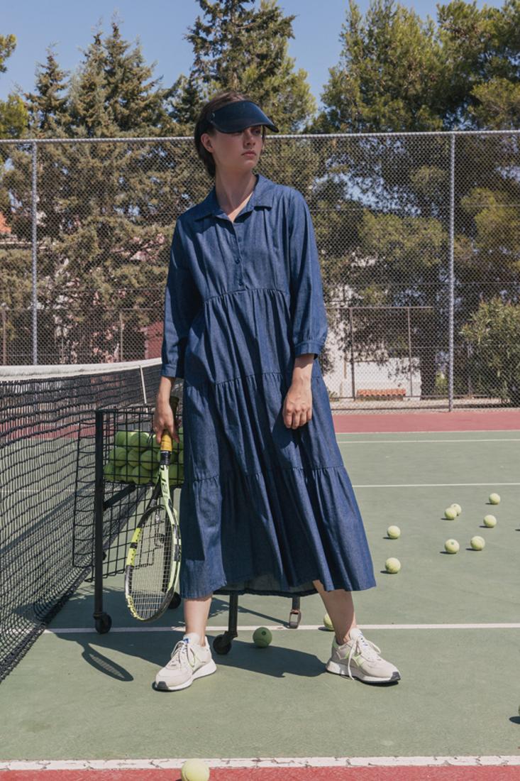 Picture of LONG DENIM DRESS