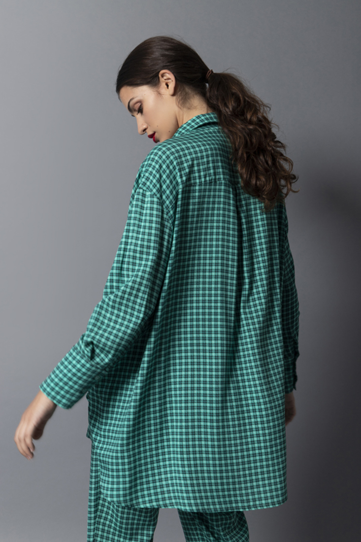Picture of OVERSIZED PLAID SHIRT