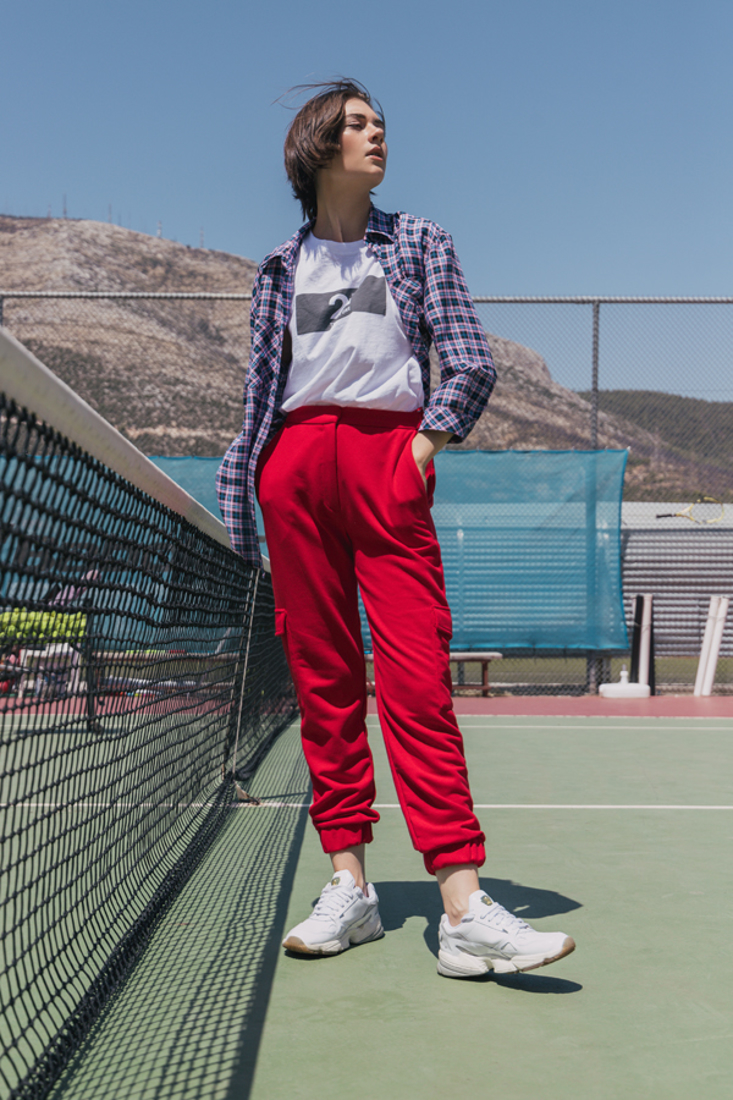 Picture of PLUSH JOGGING TROUSERS