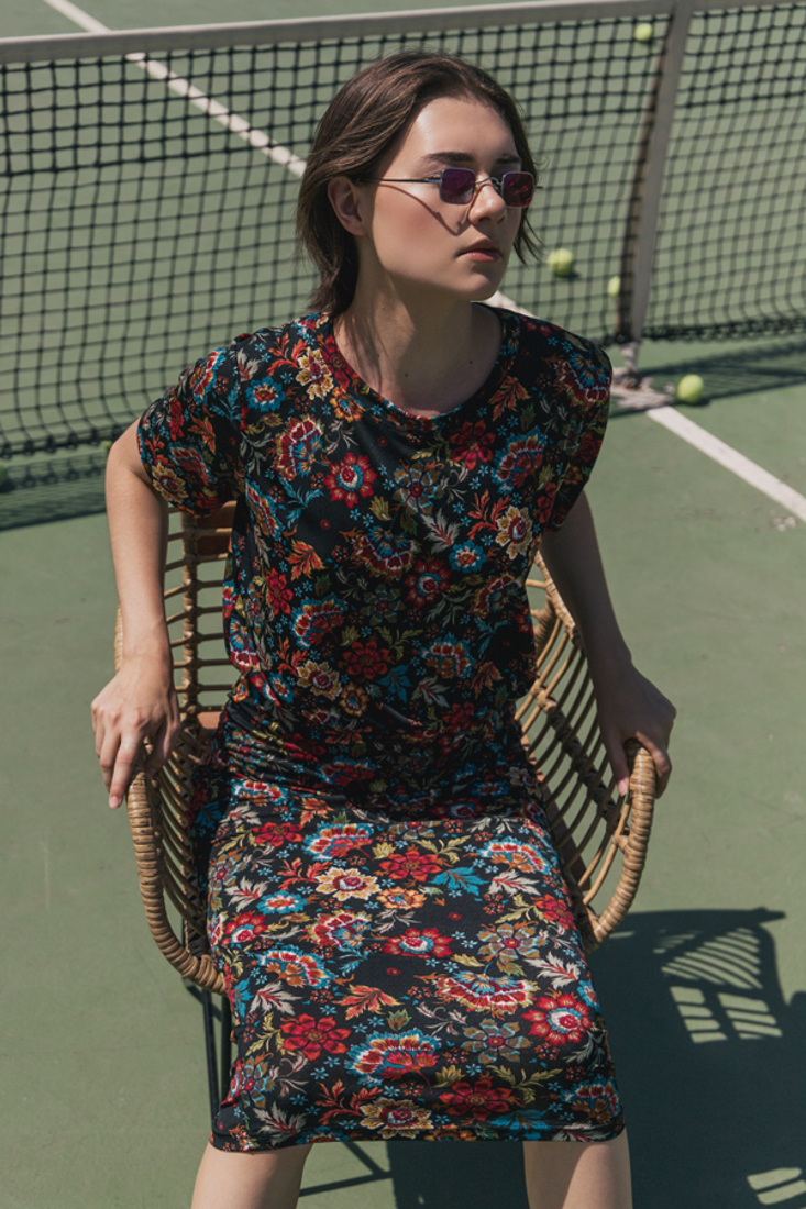 Picture of MIDI PENCIL SKIRT