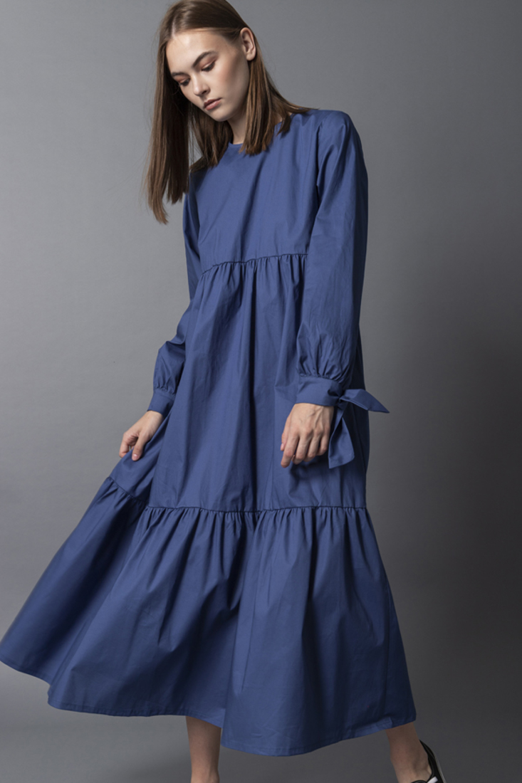 Picture of OVERSIZED POPLINE DRESS