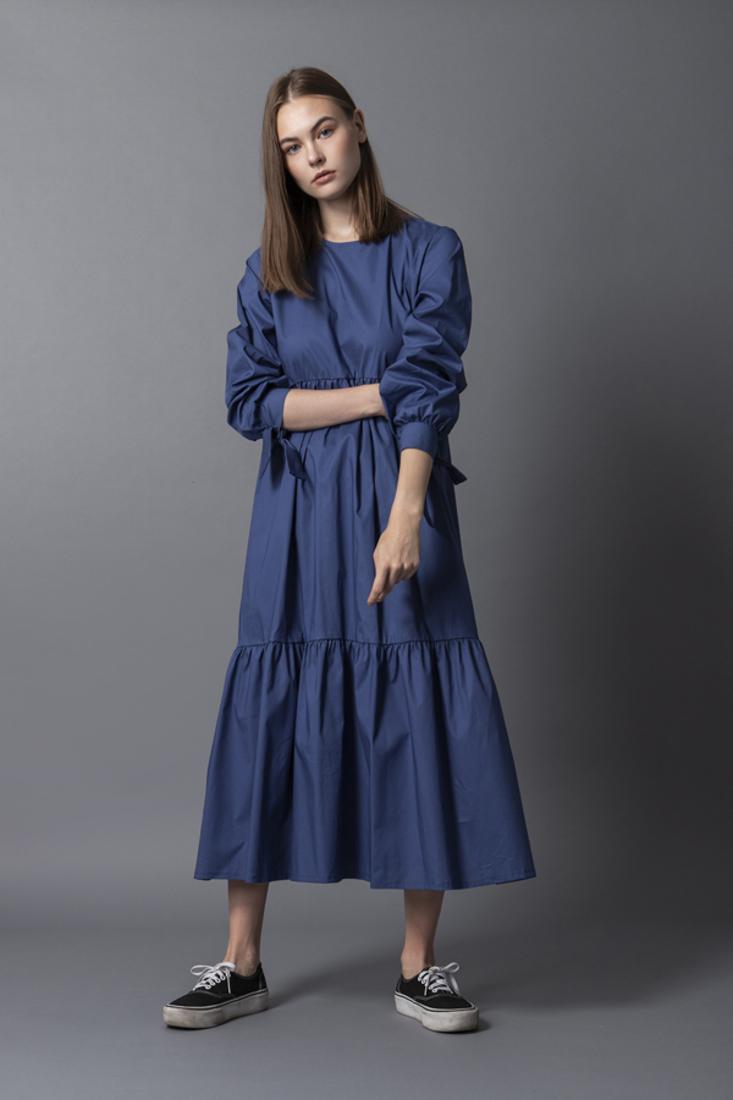Picture of OVERSIZED POPLINE DRESS  (2)