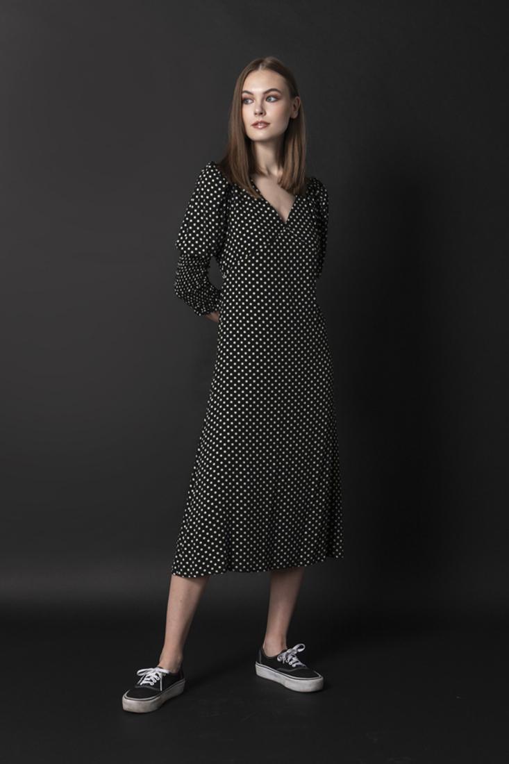 Picture of MIDI POLKA DOT DRESS