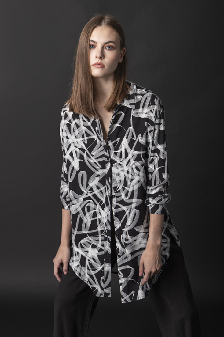 Picture of OVERSIZED PRINTED SHIRT