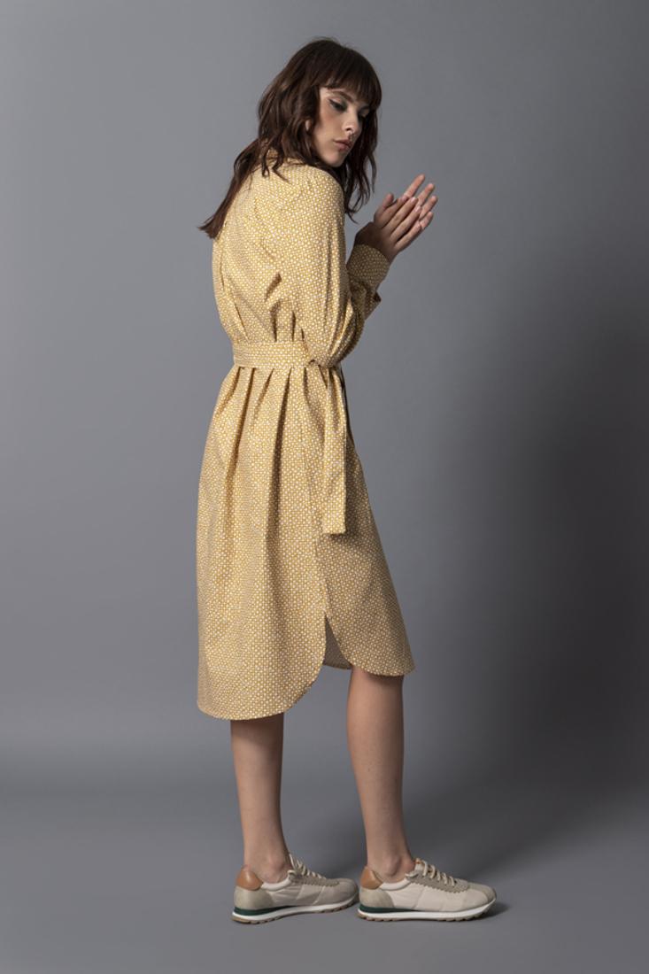 Picture of POPLINE SHIRT DRESS
