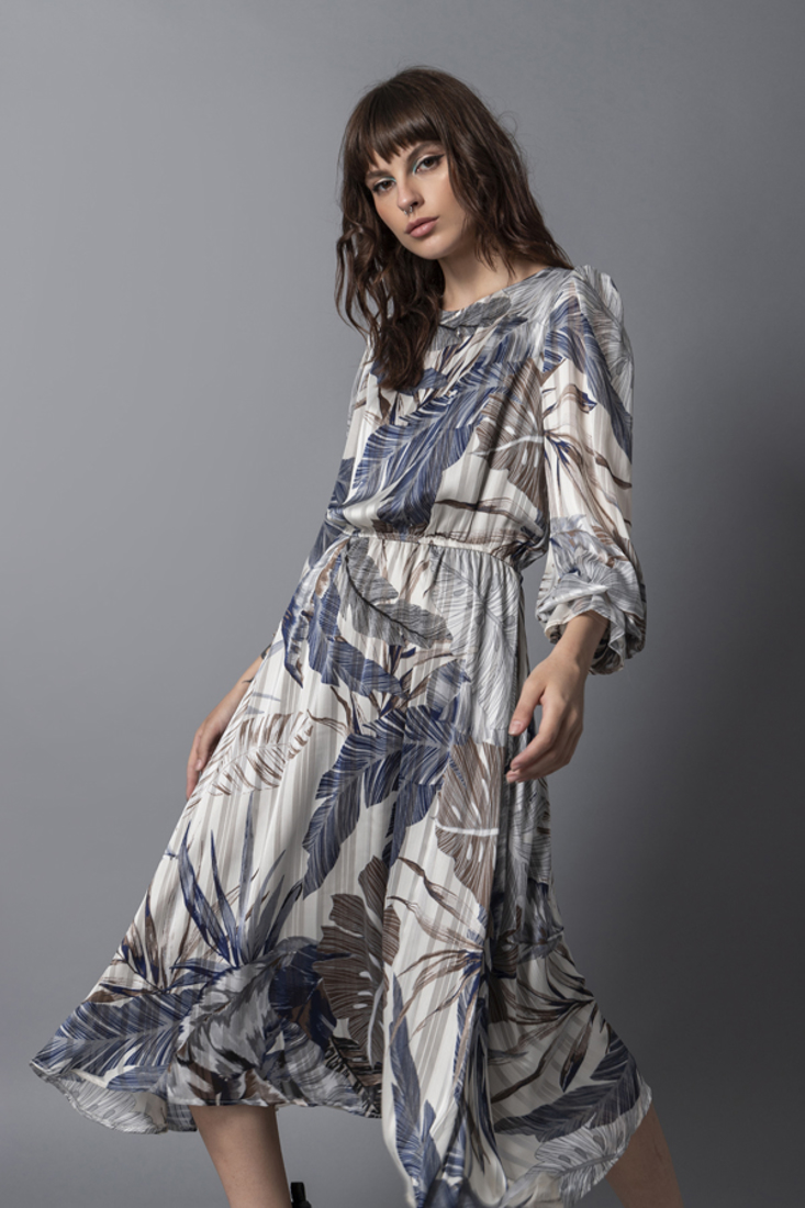 Picture of MIDI PRINTED DRESS