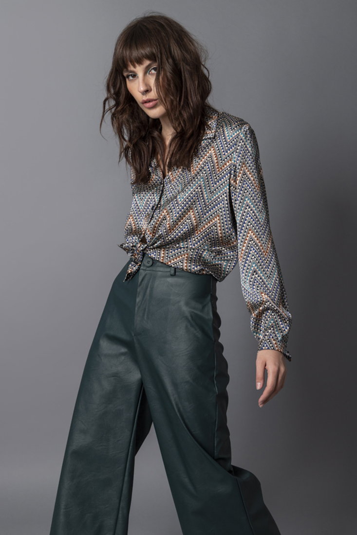 Picture of FAUX LEATHER PANTS