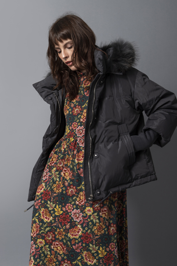 Picture of HOODED PUFFER JACKET