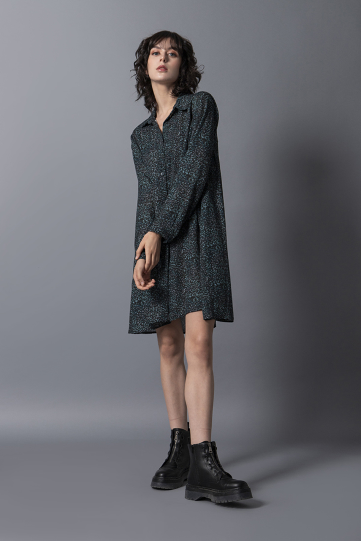 Picture of SHORT PRINTED DRESS (2)