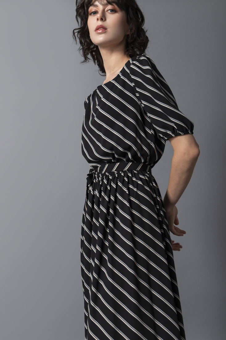Picture of LONG STRIPED DRESS