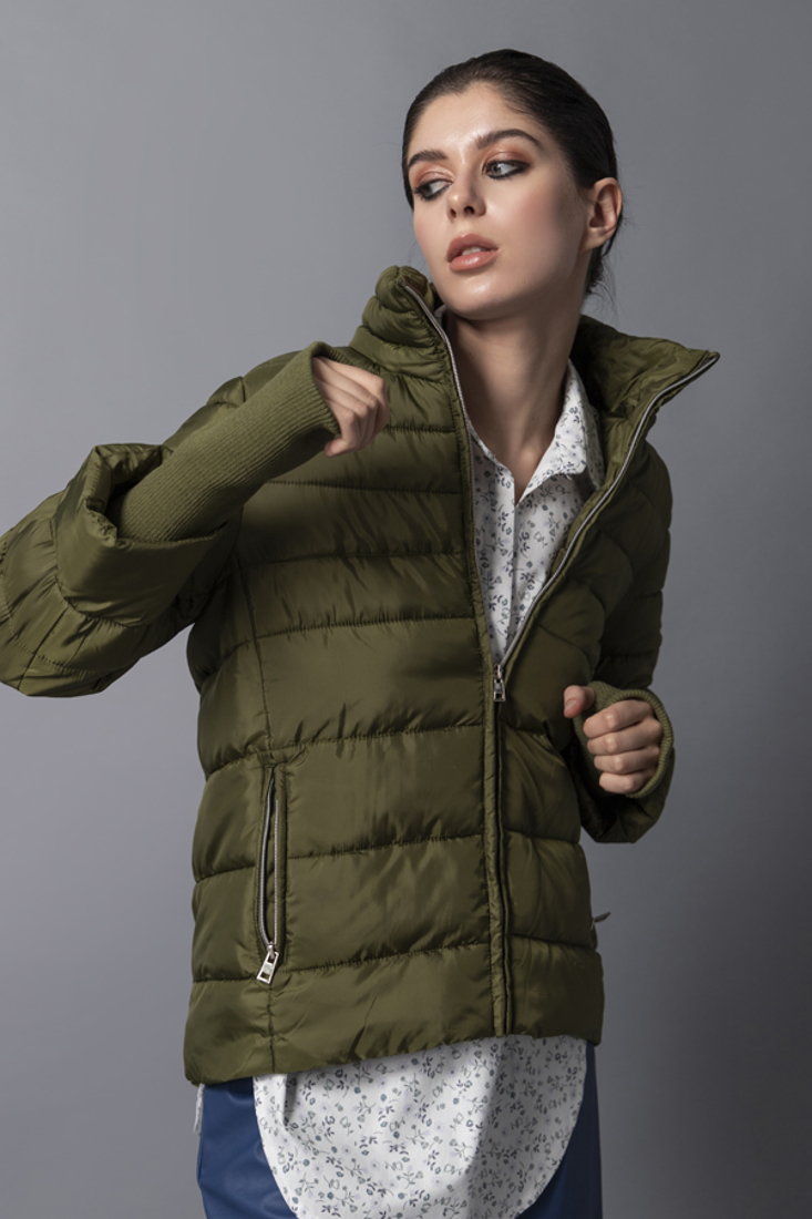 Picture of SHORT PUFFER JACKET (2)