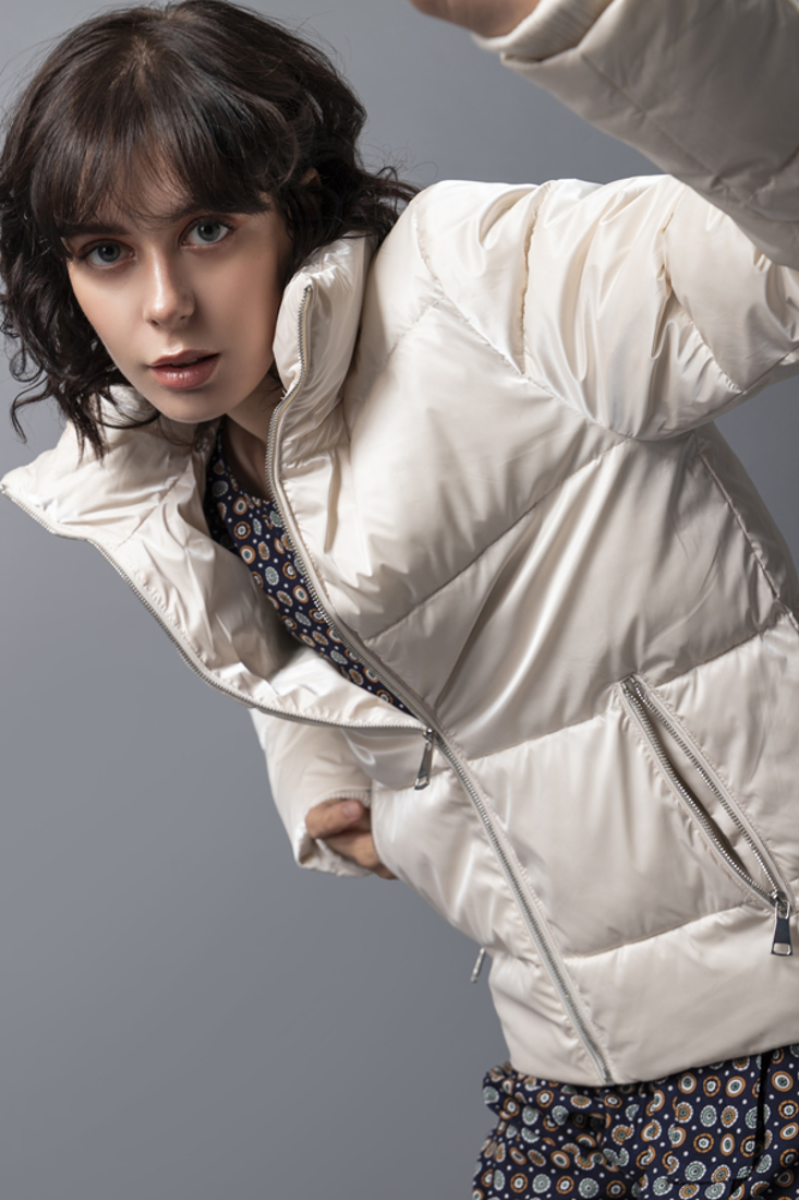 Picture of HIGH COLLAR PUFFER JACKET