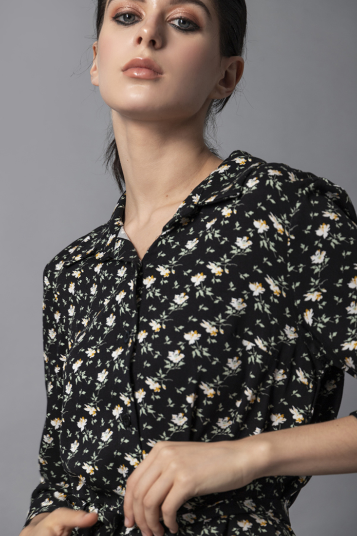 Picture of PRINTED SHIRT DRESS