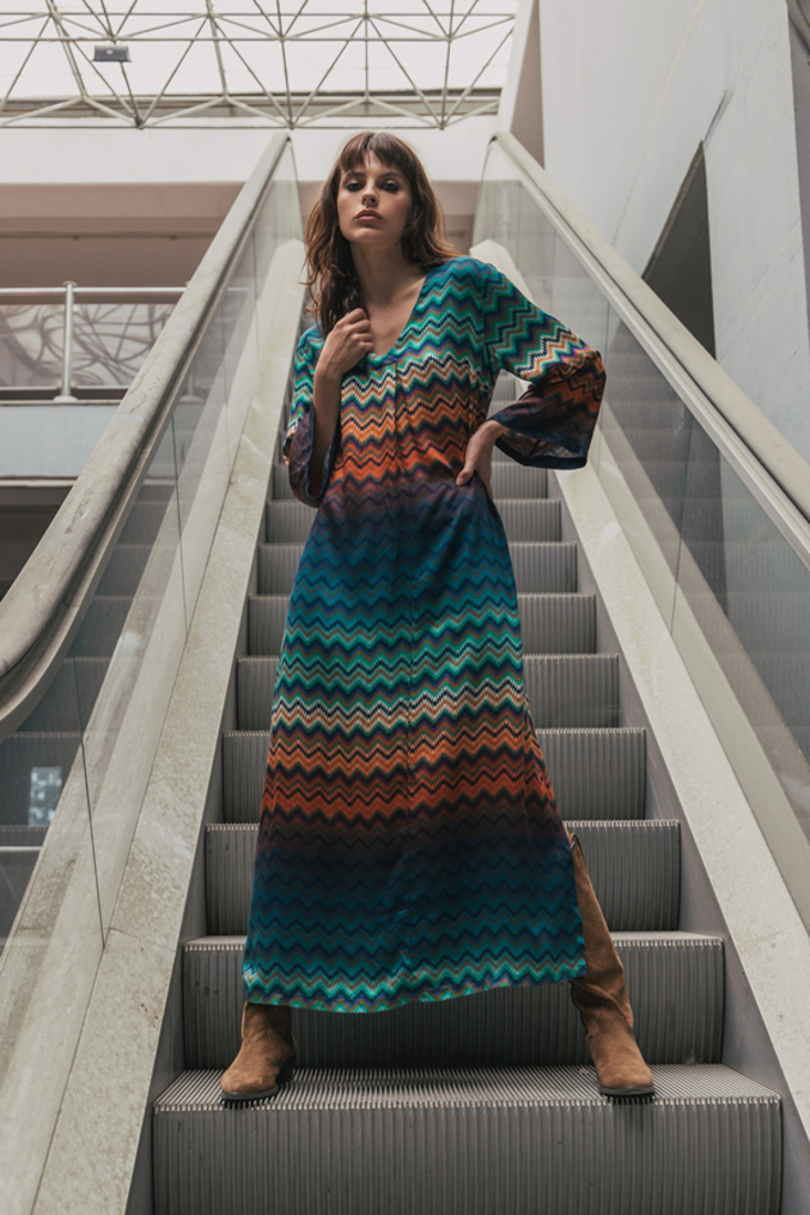 Picture of TUNIC PRINTED DRESS