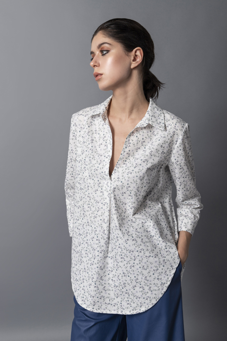 Picture of POPLINE PRINTED SHIRT