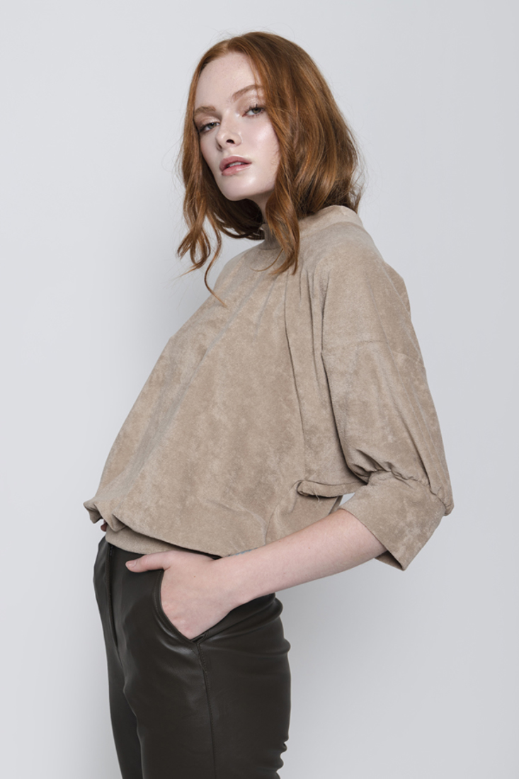 Picture of BALLOON SLEEVE BLOUSE