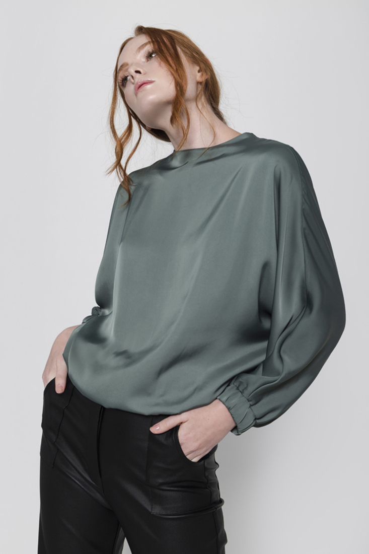 Picture of SATIN BLOUSE