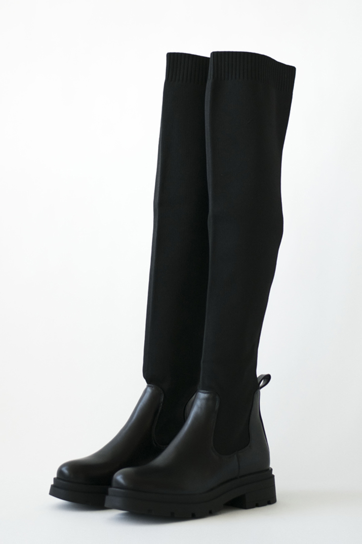 Picture of STRETCH FABRIC KNEE-HIGH BOOTS (2)