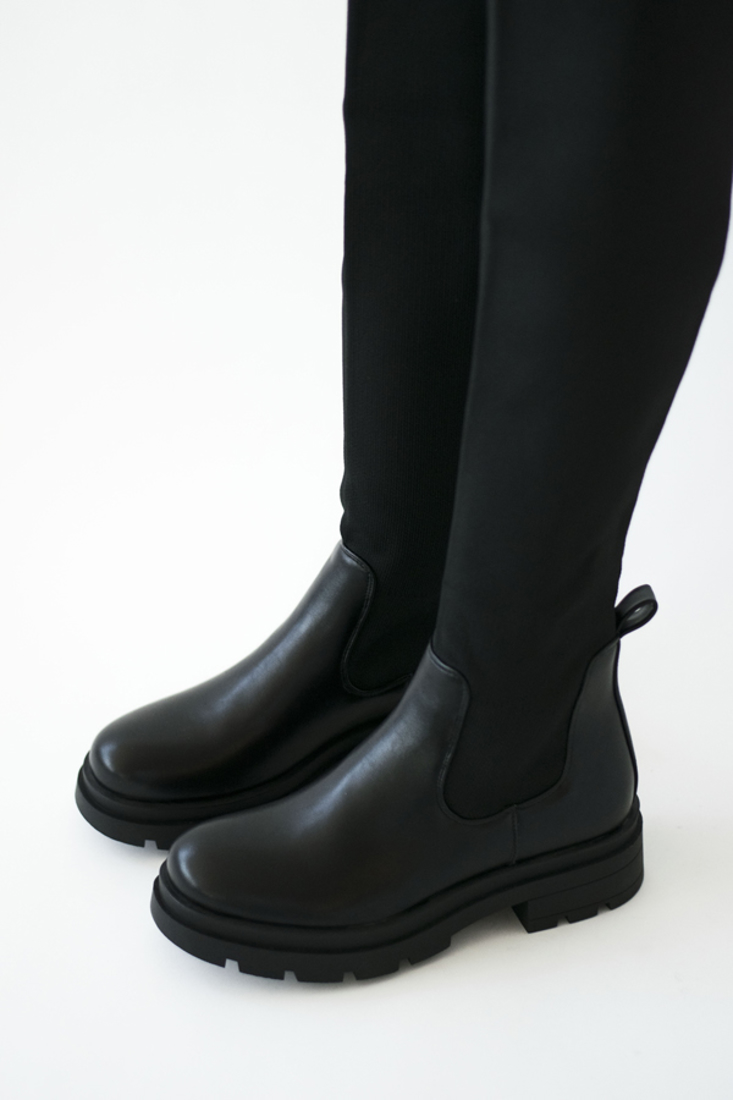 Picture of STRETCH FABRIC KNEE-HIGH BOOTS