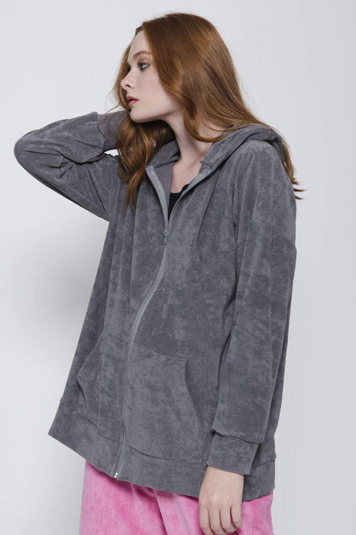 Picture of HOODED CARDIGAN