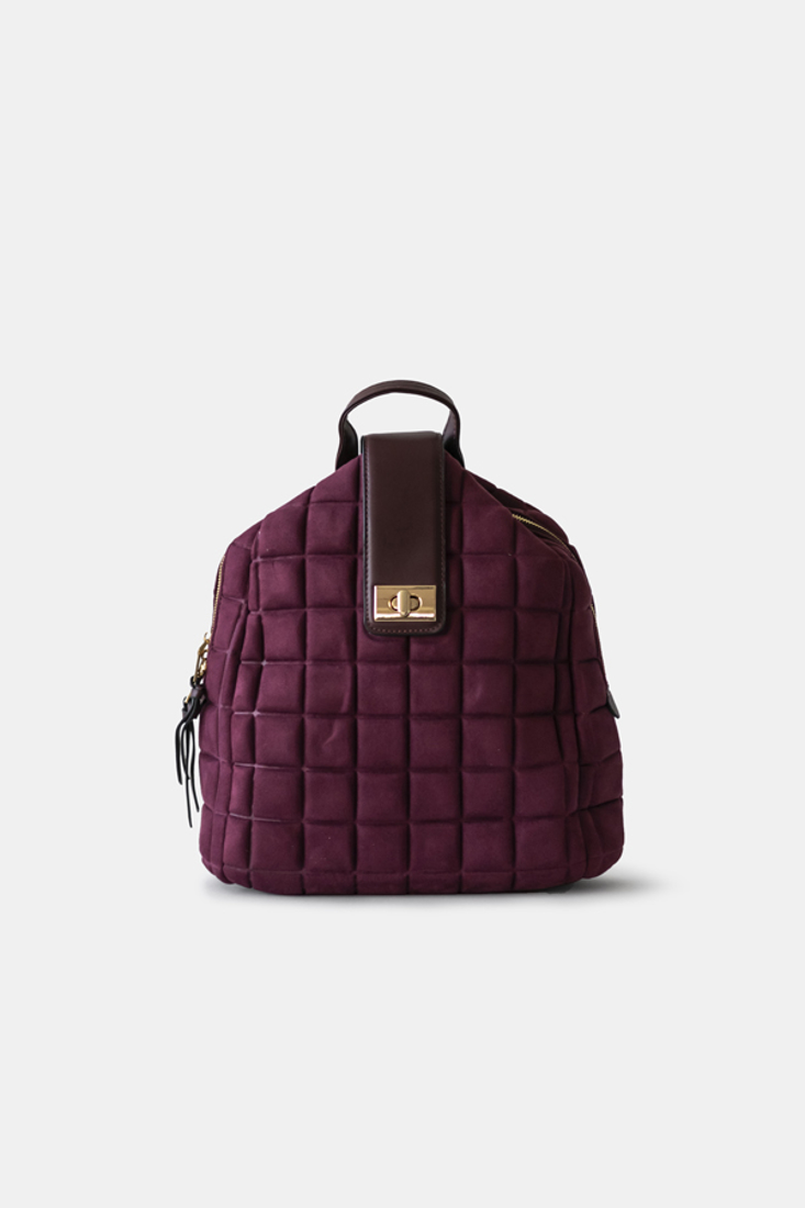Picture of SUEDE BACKPACK