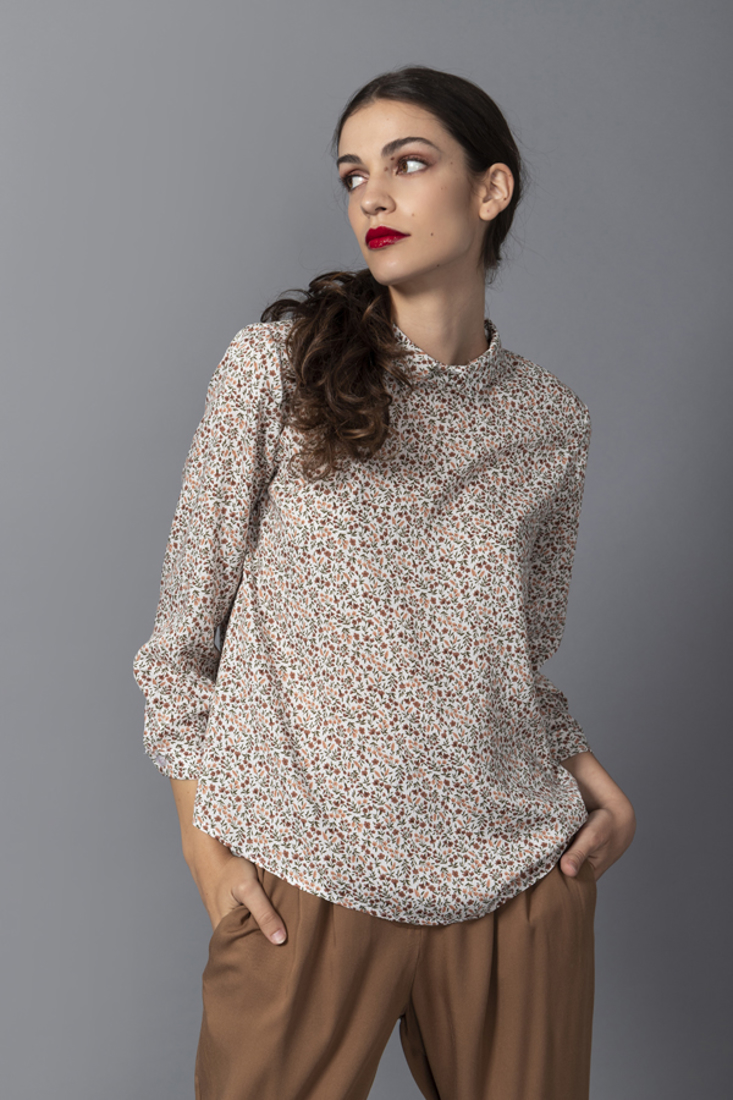 Picture of FLORAL PRINT BLOUSE