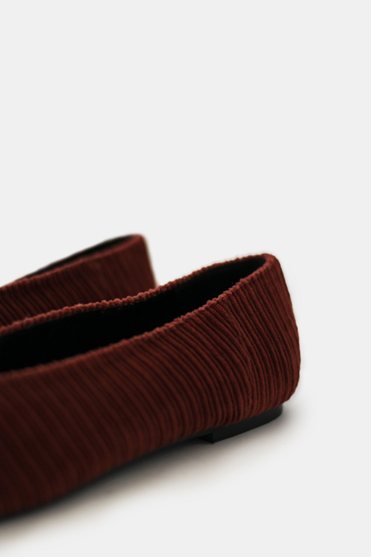 Picture of CORDUROY POINTED BALLERINAS