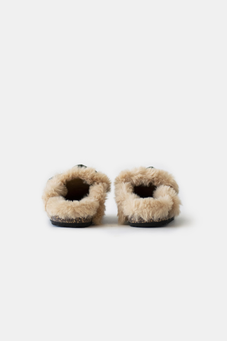 Picture of CLOGS WITH FAUX FUR