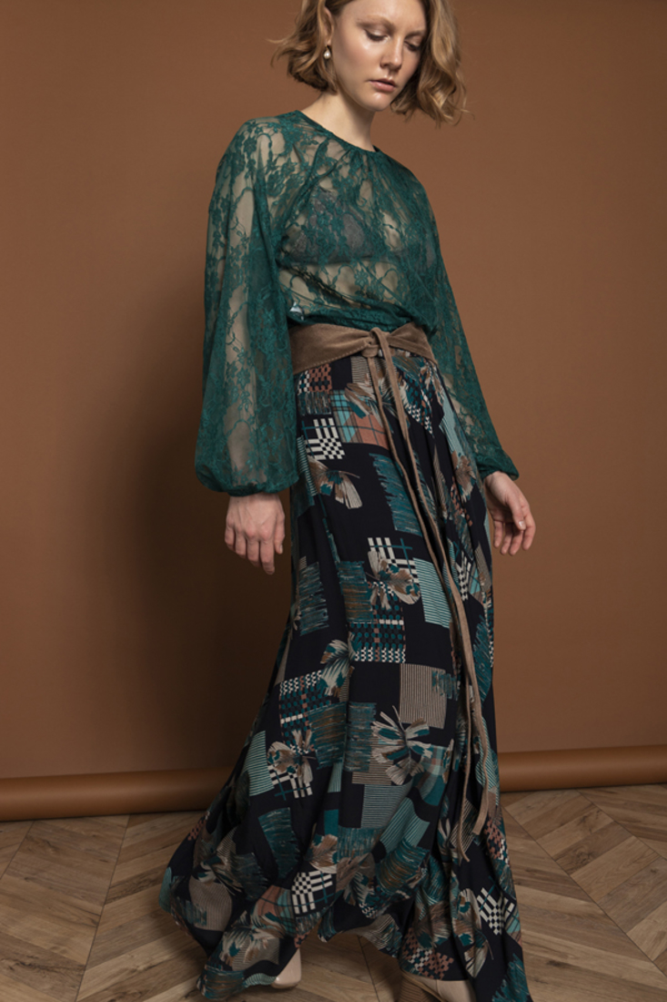 Picture of LONG PRINTED SKIRT (2)