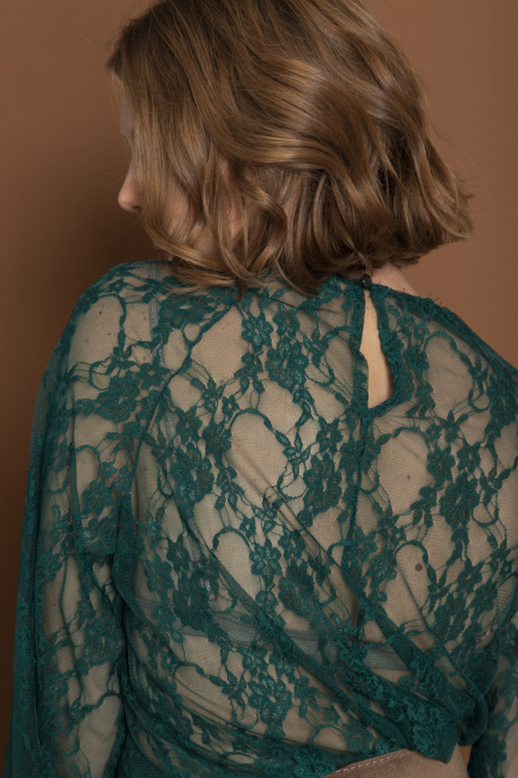 Picture of LACED TOP