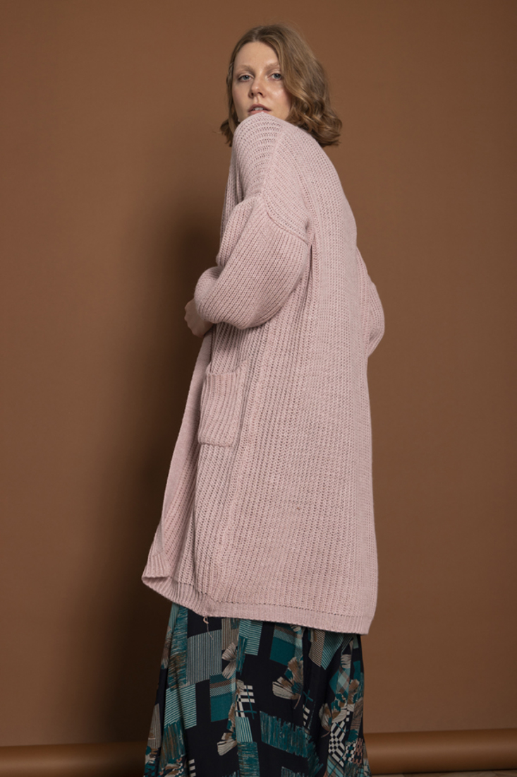 Picture of LONG KNIT CARDIGAN