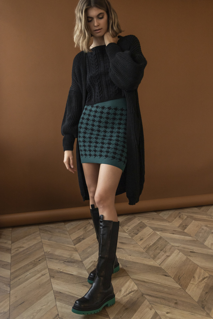 Picture of LONG KNIT CARDIGAN (2)
